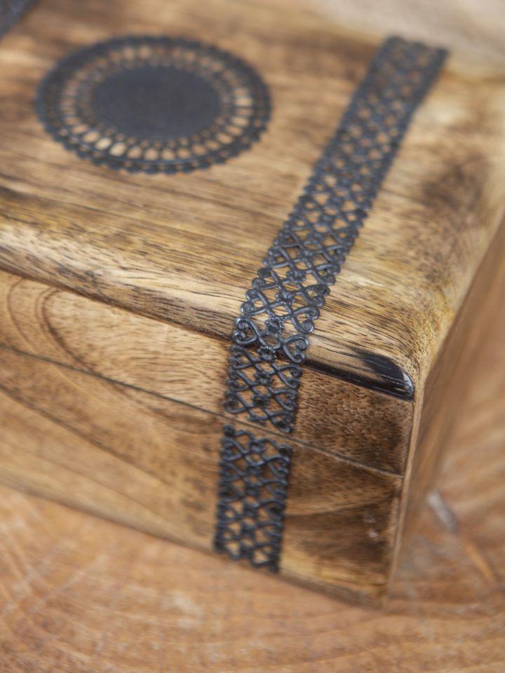 Coffre en bois pour bijoux 2