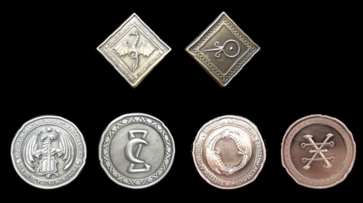 Pièces de monnaie GN Dragon 2