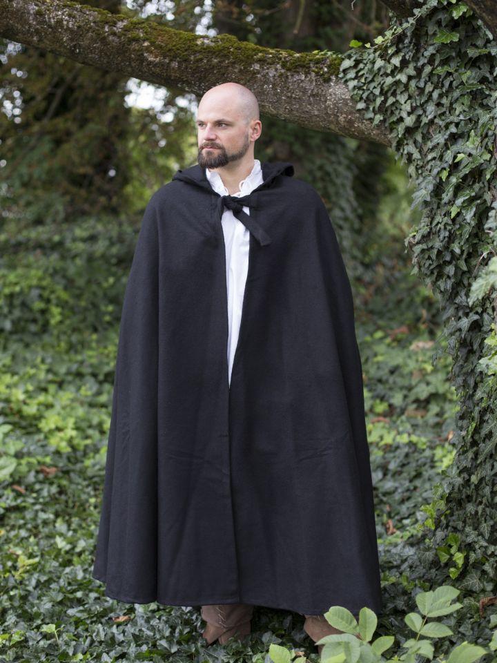 Manteau en laine avec capuche 2