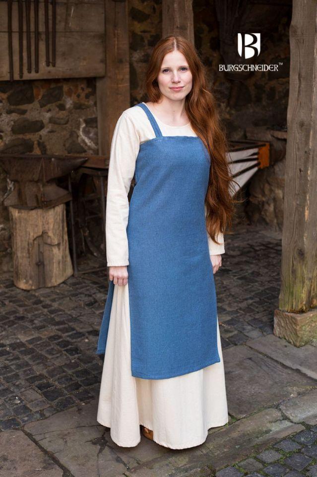 Robe Viking Frida en bleu cyan XL 2