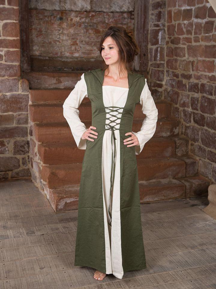 Robe médiévale à capuche 2