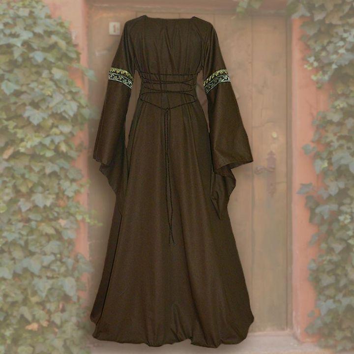 Robe Iris marron-sable 36 - 42 2