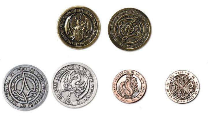Pièces de monnaie GN Feu 2