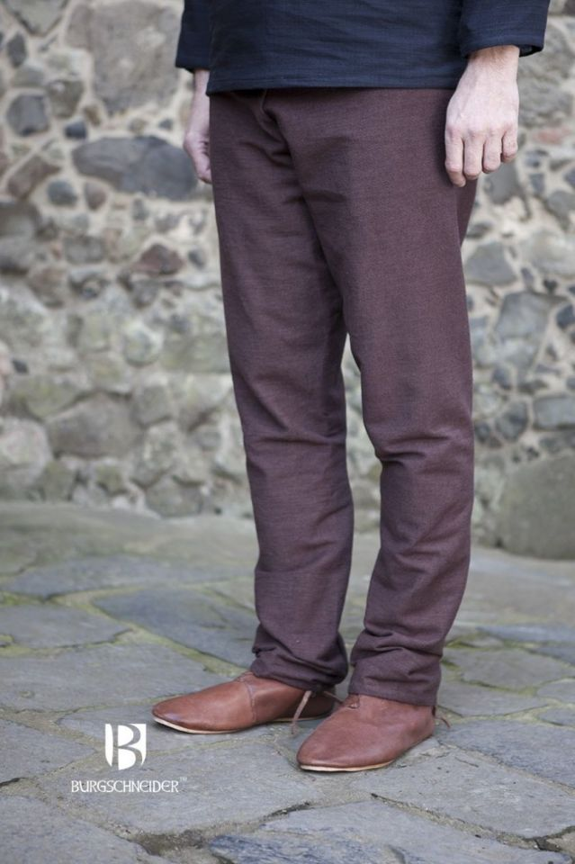 Pantalon Viking Thorsberg en marron M 2