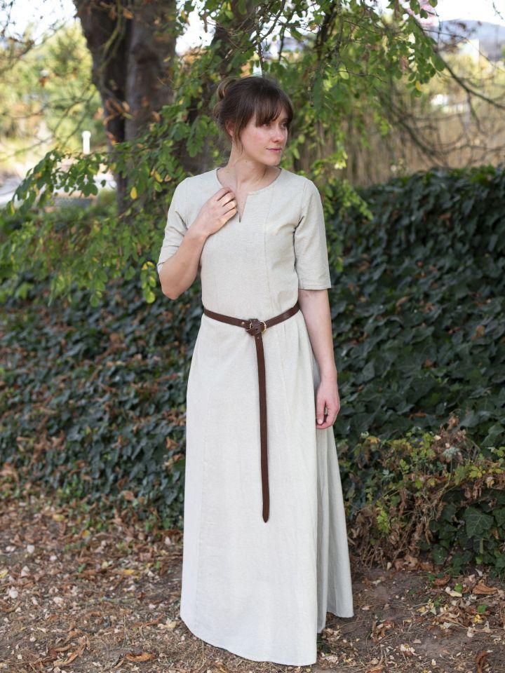 Sous-robe à manches courtes chanvre 2