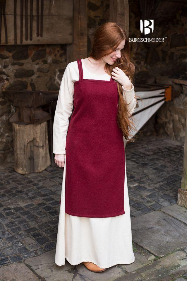 Robe viking Jodis en rouge 2
