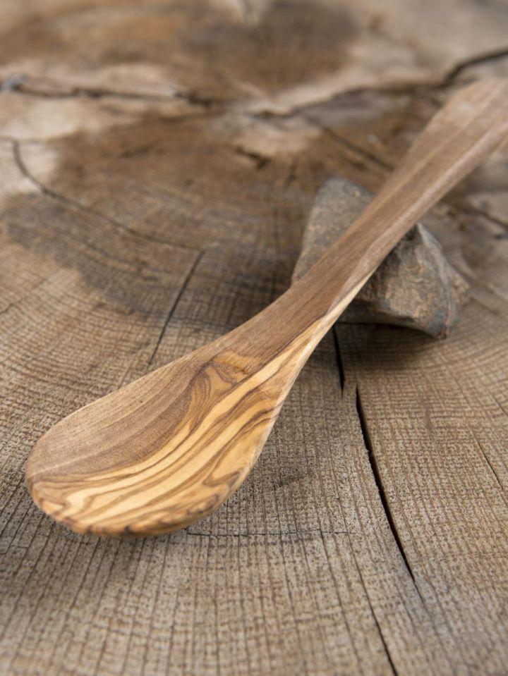 Cuiller en bois d'olivier grande 2