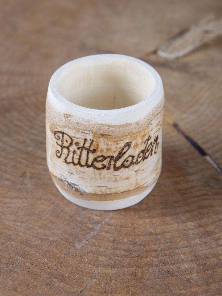 Tasse en bois de bouleau 2