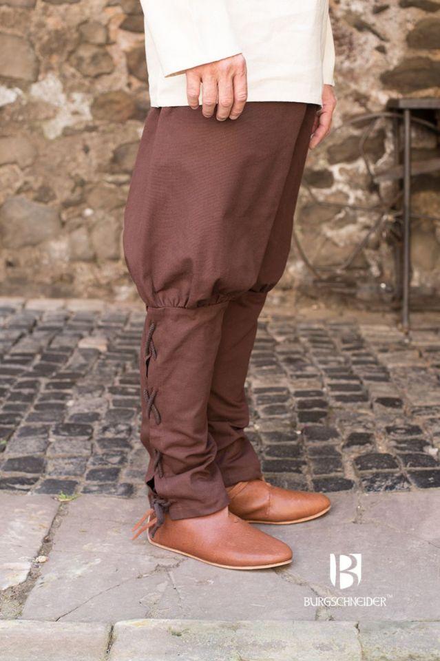 Pantalon bouffant Wigbold en marron L 2