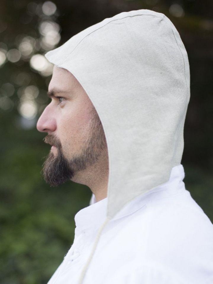 Cale en coton blanc-écru 2