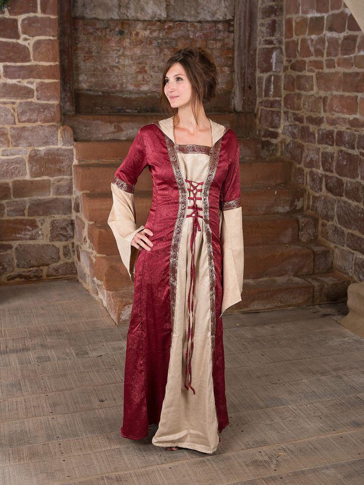 Robe médiévale avec capuche 2