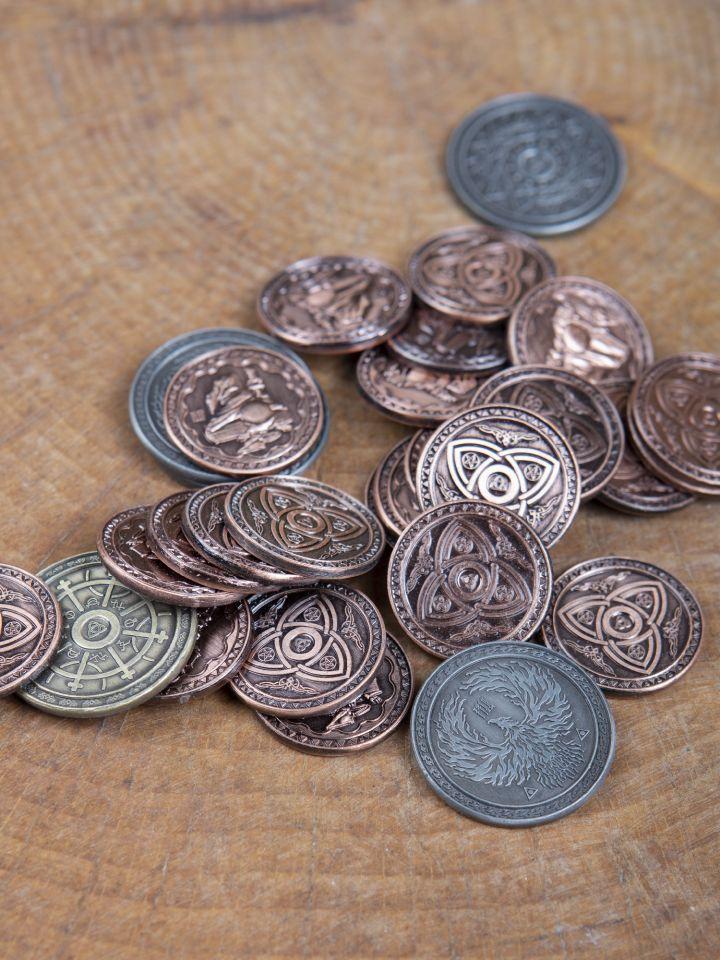 Pièces de monnaie GN Magie 2
