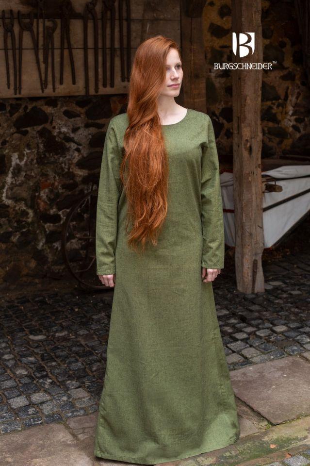 Surcot Freya en vert de gris 2