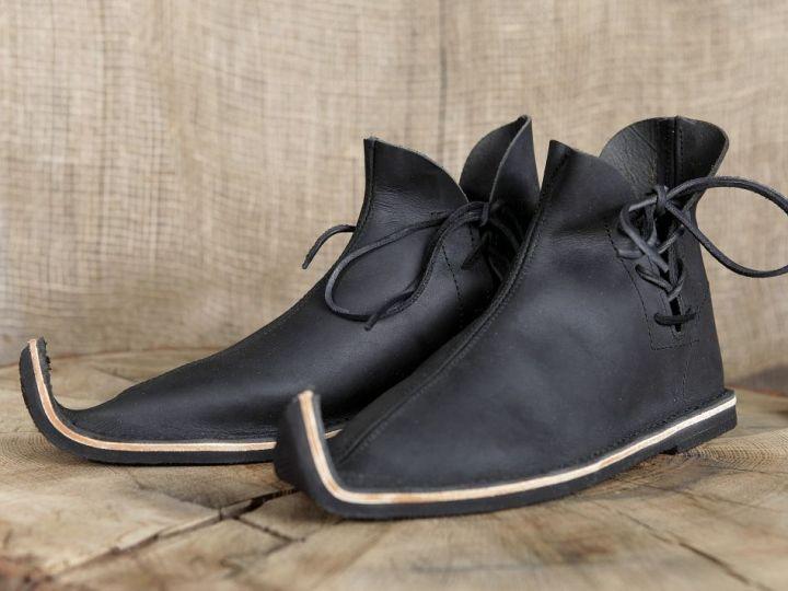 Chaussures médiévales poulaines 46 | marron 2