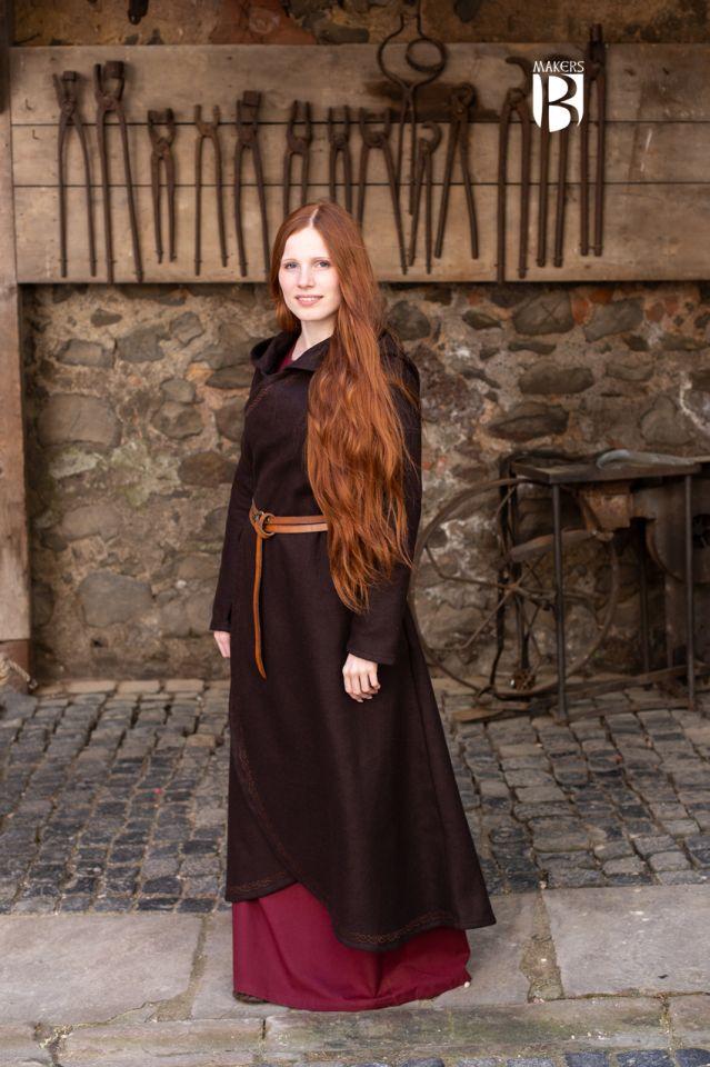 Manteau Enya en marron 2
