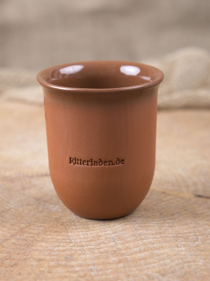 """Tasse en argile gravée aux initiales """"Ritterladen"""" 0,1 L 2"""