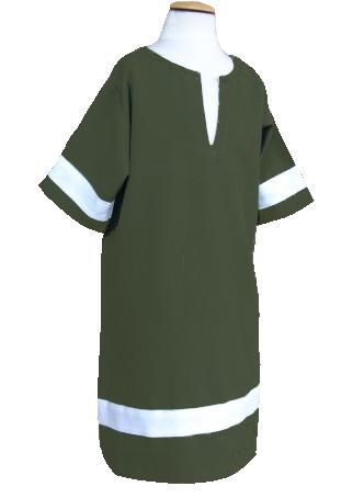 Tunique verte XXXS 2
