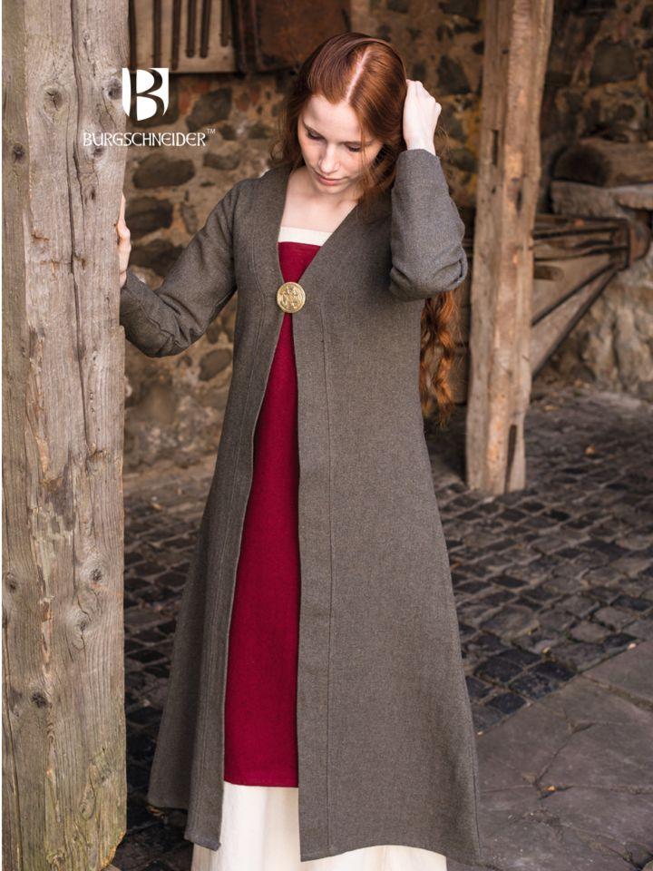 Manteau viking Siggi, en gris 2