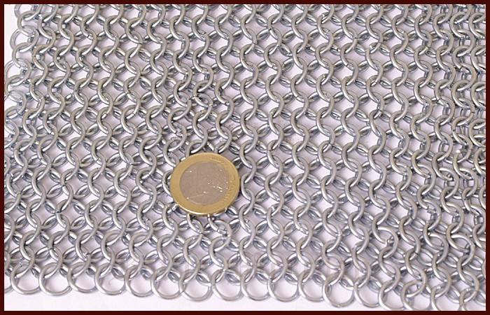 Camail, coupe carrée, galvanisé 2