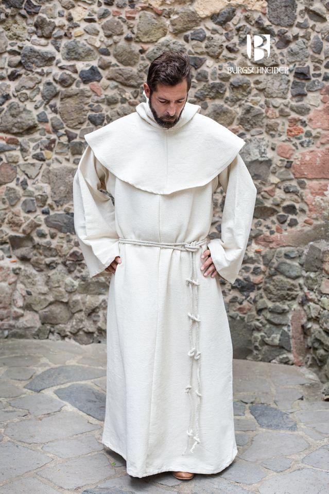 Habit de moine bénédictin en écru L/XL 2