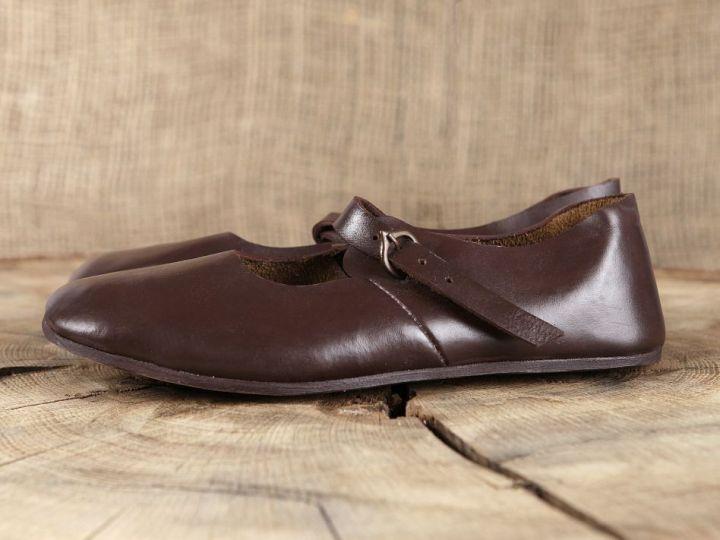 Chaussures médiévales en cuir 37 2