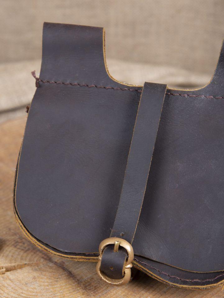 Sacoche de ceinture en marron 2