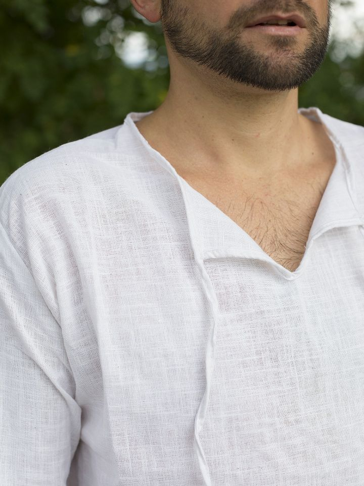Tunique en lin et coton 2
