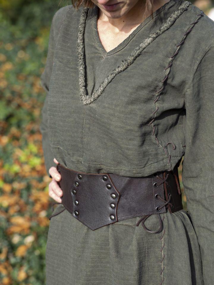 Robe Lagertha en vert 2