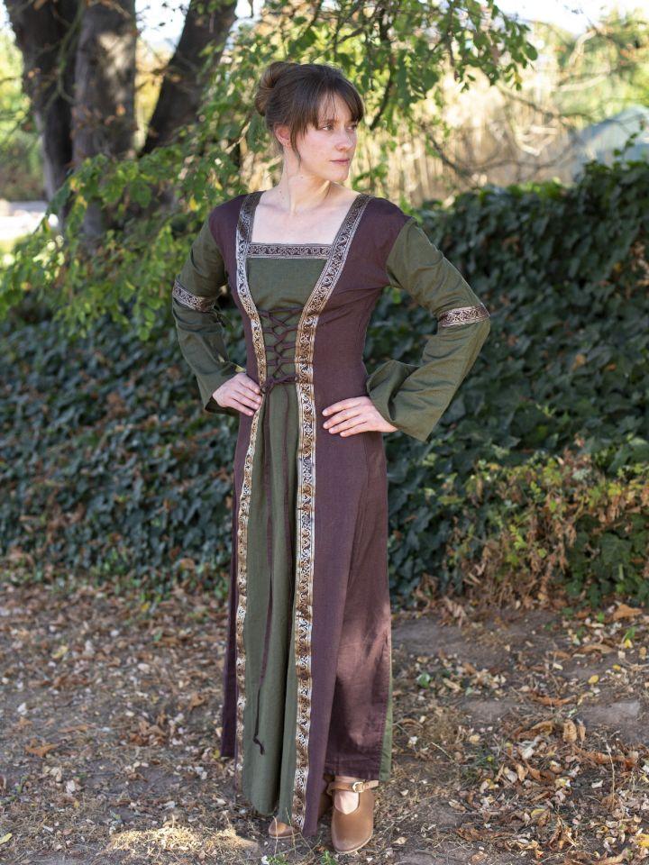 Robe médiévale à manches amovibles (version 3/4) 2