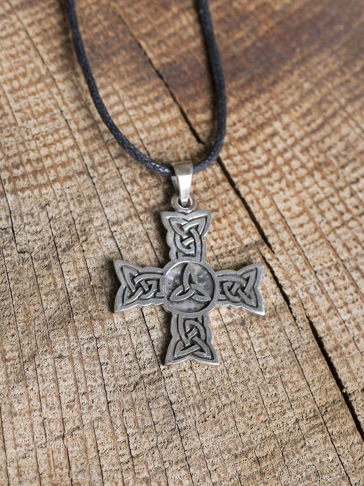 Croix celtique en argent 2