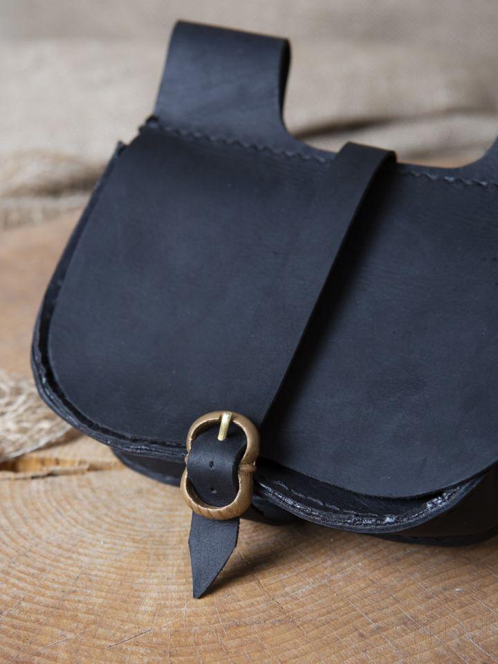 Sacoche de ceinture en noir 2