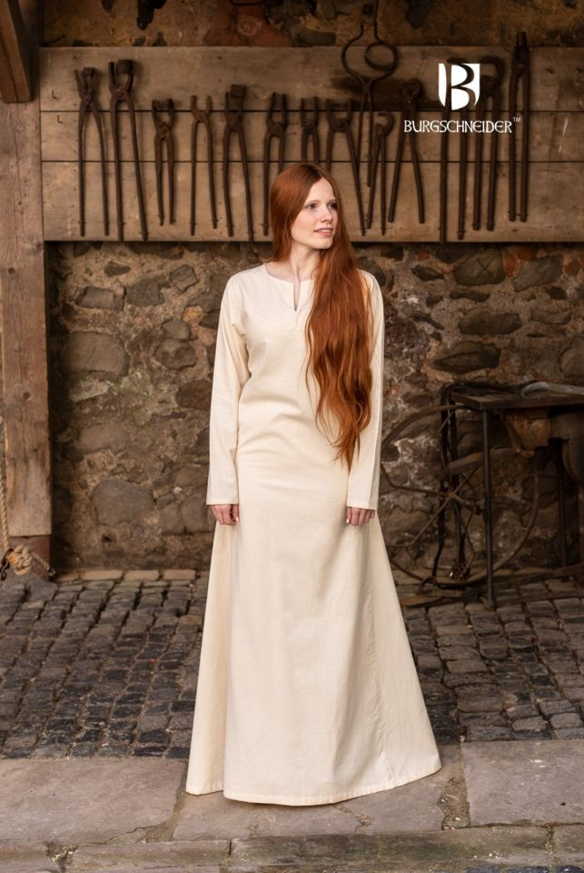 Sous-robe d'été Elisa couleur écrue 2