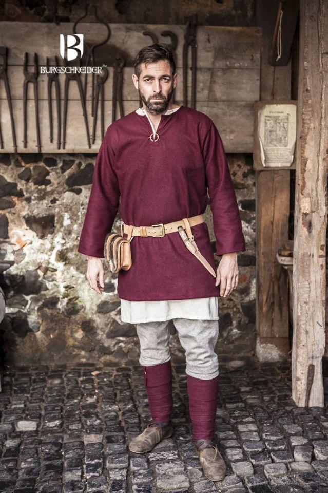 Tunique en laine Lodin en rouge M 2