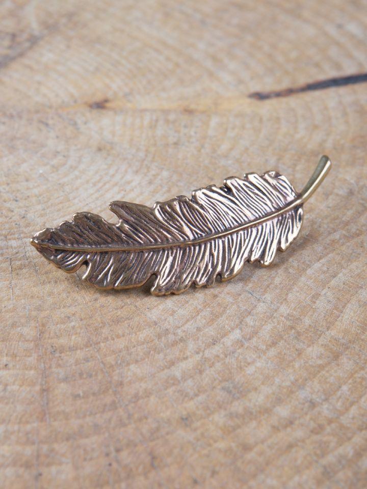 Fibule plume en Bronze 2