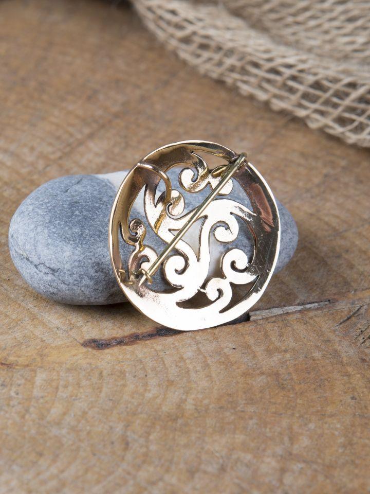Grande fibule celtique Triskele 2