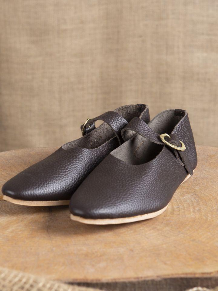 """Chaussures """"Hedwig"""" Haut/Fin - Moyen Age 38 2"""
