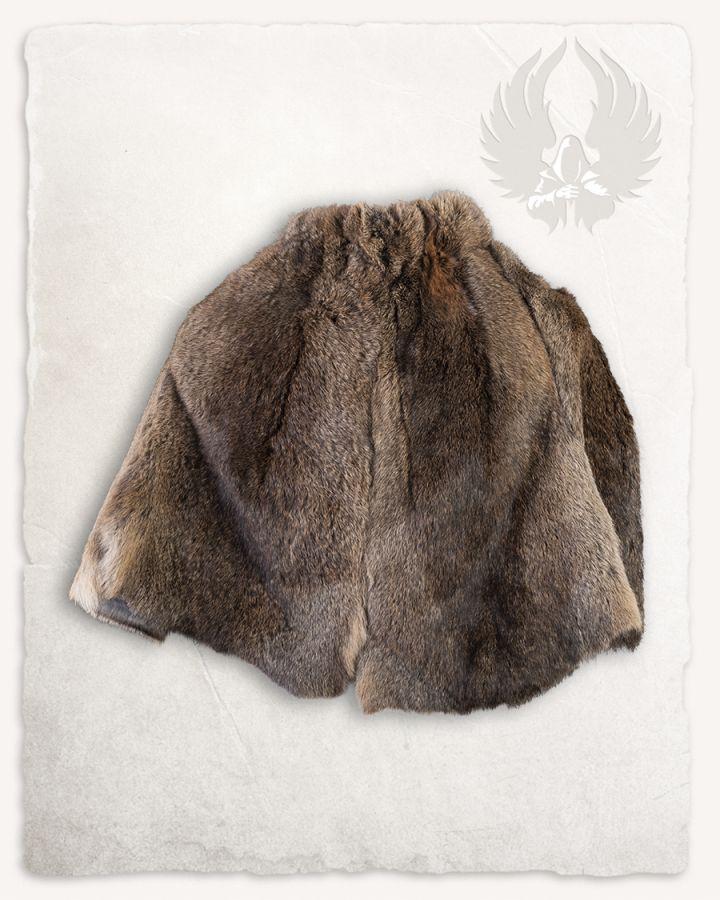 Etole en fourrure allemande de lapin brun 2