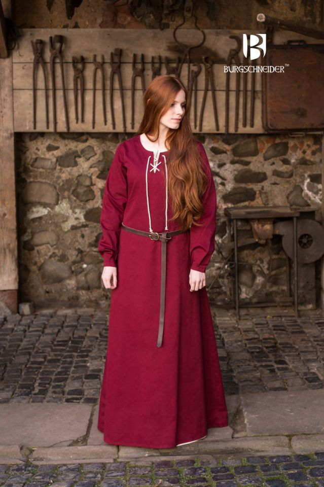 Robe Cilie rouge 2