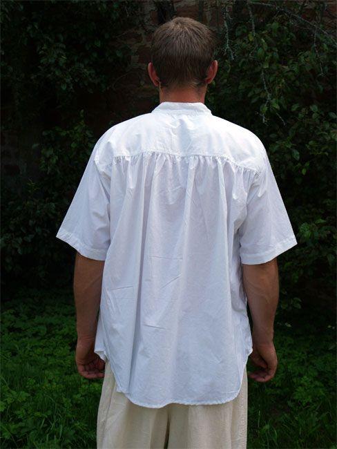 Chemise médiévale à manches courtes 2