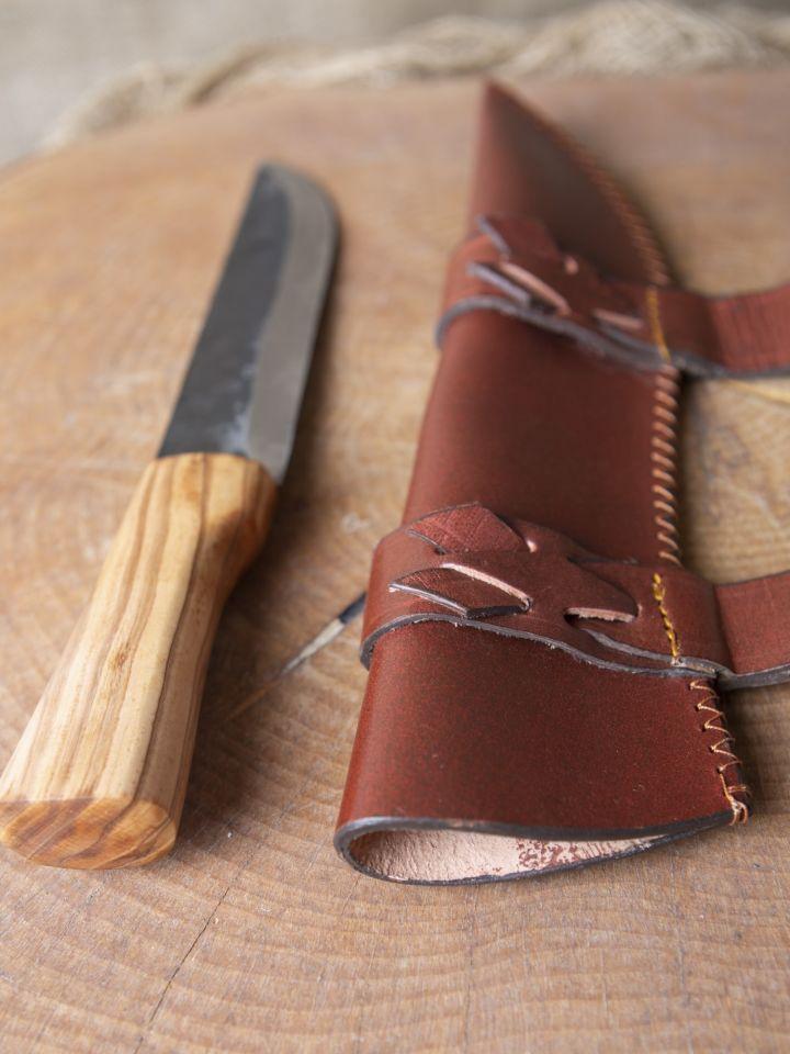 Couteau saxe avec fourreau 2