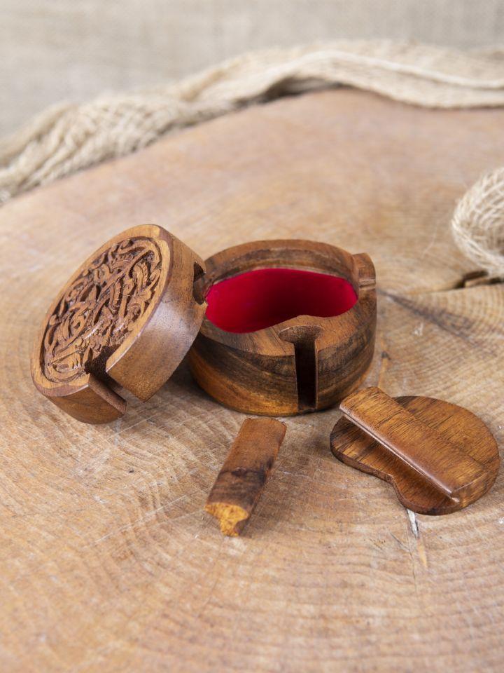 Boîte en bois motif serpent Midgard 2