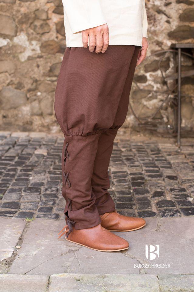 Pantalon bouffant Wigbold en marron 2