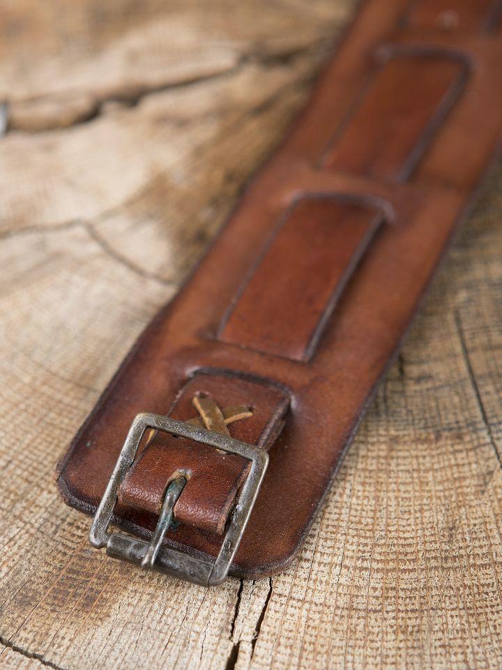 Bracelet en cuir marron 2