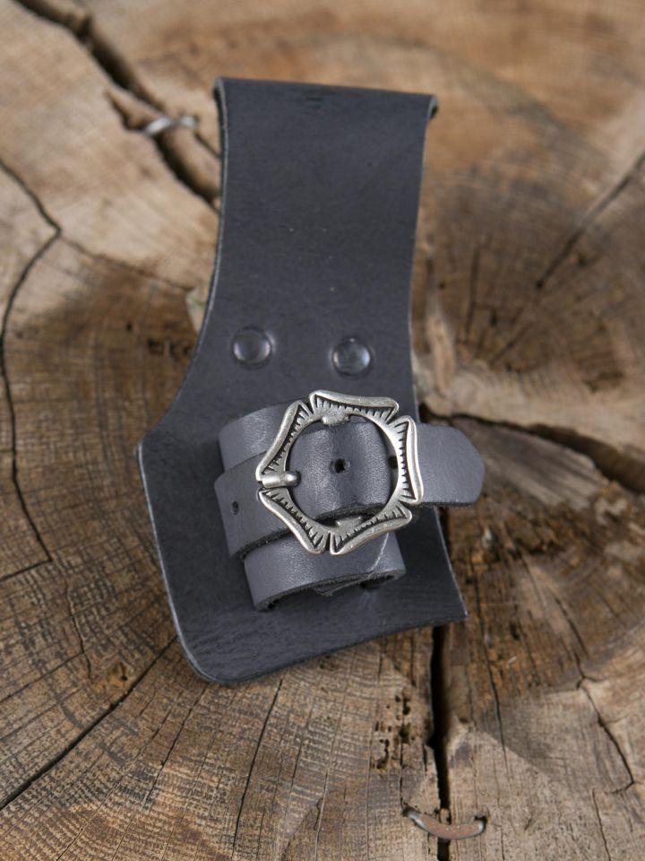 Porte épée, dague ou poignard en noir 2