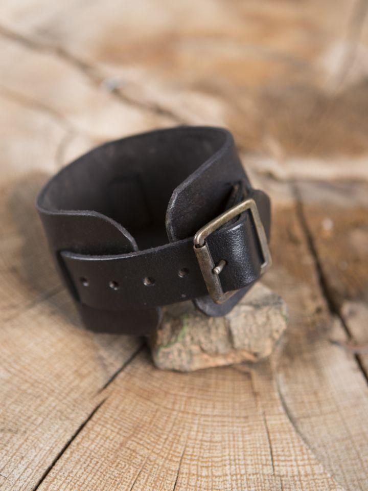 Bracelet en cuir noir 2