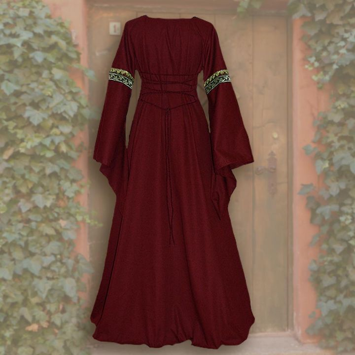 Robe Iris rouge-sable 2