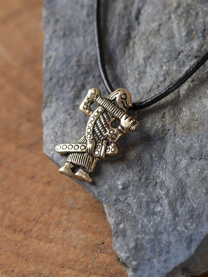 Amulette Guerrier Viking de Klahammar 2