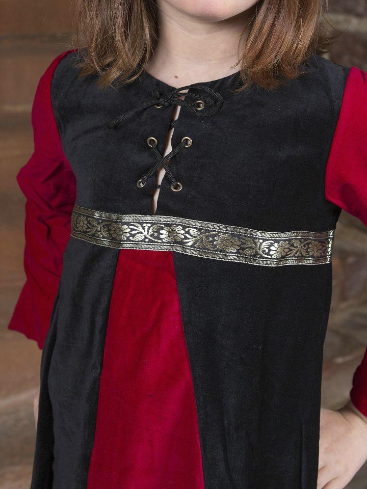 Robe de princesse en velours 2