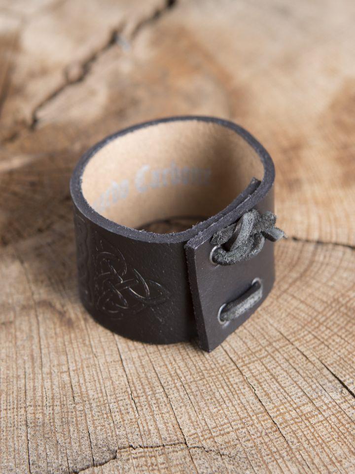 Bracelet motifs Celtiques, en noir 2