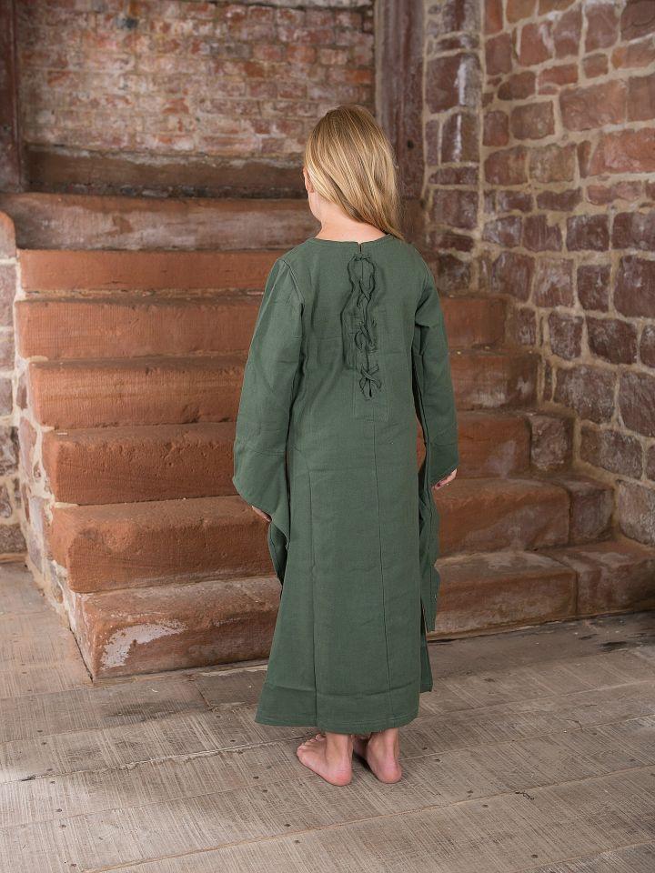 Robe médiévale en coton pour enfant 2